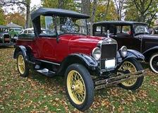 1927 vorbildliche T Ford Aufnahme Lizenzfreie Stockfotografie