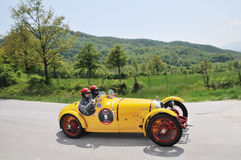 A 1927 yellow BNC 527 Monza Royalty Free Stock Images