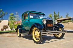 1928年福特小轿车 库存照片