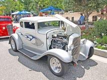 1929年福特五视窗小轿车 免版税库存照片
