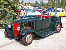 1929 modelleer een de open tweepersoonsautobestelwagen van de Doorwaadbare plaats. Royalty-vrije Stock Afbeeldingen