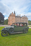 1929 Rolls Royce at Brodie Castle. Royalty Free Stock Images