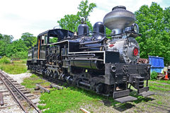 1929 Shay Steam Locomotive #7. Used by New Mexico lumber company Royalty Free Stock Photography