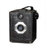 1930古色古香的相机盒s 库存照片