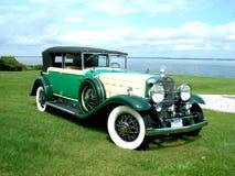 1930年卡迪拉克敞篷车弗利特伍德 免版税库存图片