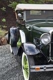 1930年美妙地汽车被恢复的s 库存图片