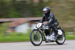 1930年bullus摩托车nsu葡萄酒 库存图片