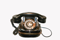 1930 belgiska s-telefon royaltyfri foto