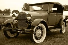 1930 Model A Ford Phaeton  Stock Photography