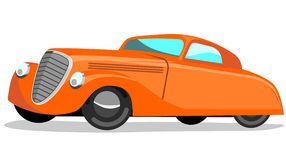 1930s automobile retro style. Vector art of a 1930s automobile retro style Stock Photography