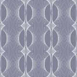 1930s geometric art deco modern pattern Royalty Free Stock Photo