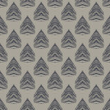 1930s geometric art deco modern pattern Royalty Free Stock Photography