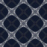 1930s geometric art deco modern pattern. Royalty Free Stock Photography