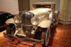 1931辆敞篷车duesenberg j模型维多利亚 免版税图库摄影