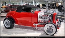 1932 Ford Roadster - 'Red Hot' Royalty Free Stock Images