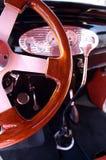 1932 Uitstekend stuurwiel Royalty-vrije Stock Fotografie