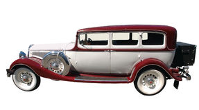 1933 Studebaker. Isolated with clipping path Stock Images