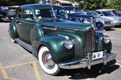 1934古董车packard轿车 库存图片
