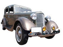 1934 Chrysler Plymouth Deluxe. Isolated with clipping path royalty free stock photo
