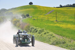 A 1934 green MG K3 Stock Images