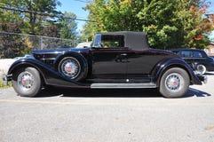 1934 Packard 12 μετατρέψιμο παλαιό αυτοκίνητο Στοκ εικόνα με δικαίωμα ελεύθερης χρήσης