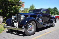 1934 Packard 12 Convertible Antique Car Royalty Free Stock Photos