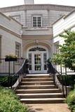 1935回到被修建的burritt豪宅 免版税库存图片