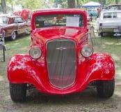 1935年Chevy STD正面图 库存照片