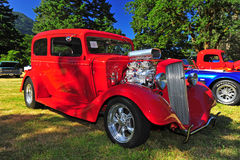 1935 Chevy Hot rod royalty free stock image