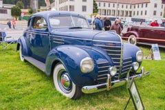 1936年游览轿车的普利茅斯 库存照片