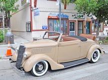 1936年福特小轿车 库存照片