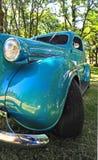 1936经典热被恢复的标尺深青色 免版税库存图片