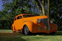 1936经典马力强大的被恢复的汽车 免版税库存照片