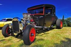 1936 chevy旧车改装的高速马力汽车 图库摄影