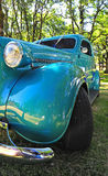 1936 Restored teal classic Hot Rod Royalty Free Stock Image