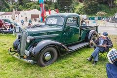 1937年普利茅斯PT50 免版税库存照片