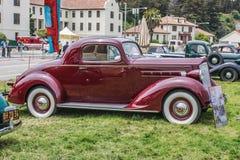 1937年Packard 110小轿车 库存照片