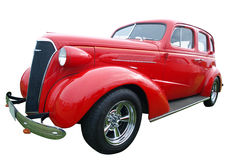 1937 Chevrolet Master Sedan Deluxe. Isolated with clipping path stock photo