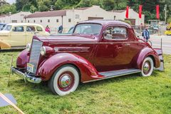 1937 Packard 110 Coupe Stock Image