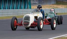 1938年汽车edelbrock有历史的赛跑的specia速度 免版税库存照片