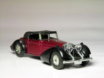 1938 Hispano Suiza - car. Antique car model Stock Photos