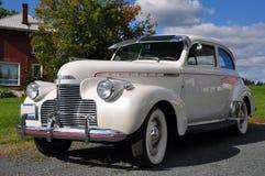 1940年薛佛列汽车主要白色 图库摄影