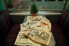 1940 newspaper Stock Photos