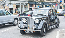 1940's Rover car in Vintage Rally Royalty Free Stock Photos