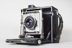 Free 1940&x27;s Graflex Speed Graphic Press Camera Royalty Free Stock Images - 57640029