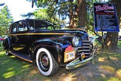 1940 Zwarte Bom Oldsmobile Stock Fotografie