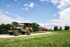 1942 Jeep MB Willys Royalty Free Stock Photo