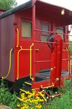 1944 Rode Caboose Stock Afbeelding