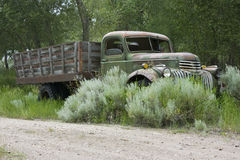 1946 Flatbed Vrachtwagen Chevrolet Stock Fotografie