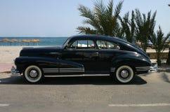 1947蓝色汽车系列墨水 图库摄影